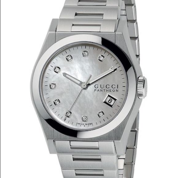 368d7baec20 GUCCI GUCCI - Pantheon Diamond Watch!